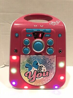 Jojo Siwa JJ-672 Bluetooth/Aux/CD-G Karaoke Machine ...