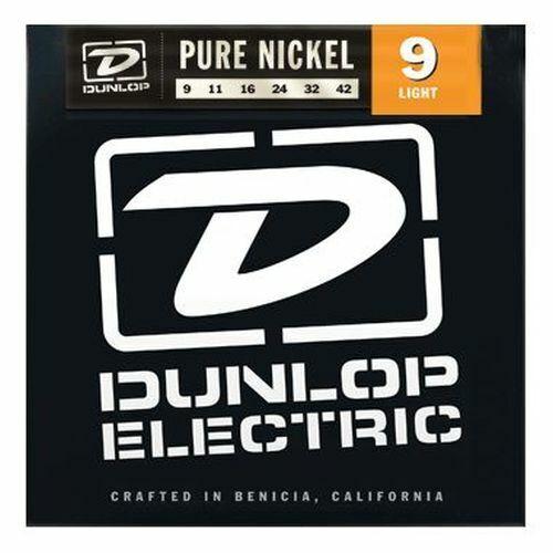 OVP /% DUNLOP DEK 09-42 Pure Nickel Strings E-Gitarre Saiten NEU /%