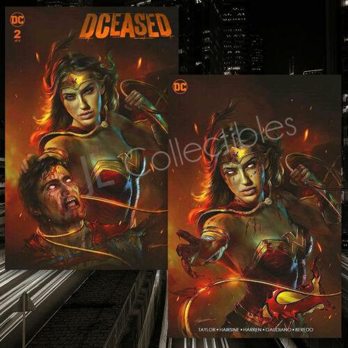 DCeased #2 Shannon Maer Wonder Woman Exclusive Trade Variant Minimal Pre Order