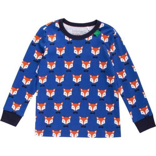 Green Cotton Freds World T-Shirt Langarmshirt Fuchs Fox 68 74 80 86 92 neu