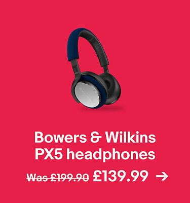Bowers & Wilkins PX5 headphones £139.99