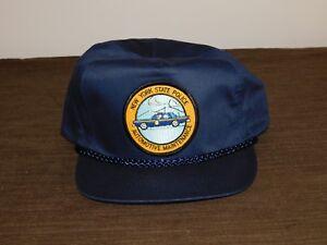 POLICE-BASEBALL-CAP-HAT-NEW-YORK-STATE-POLICE-AUTOMOTIVE-MAINTENANCE-NEW-UNUSED