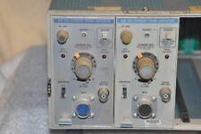 Tektronix Am503 Current Probe Amplifier Plug In Lot Of 2