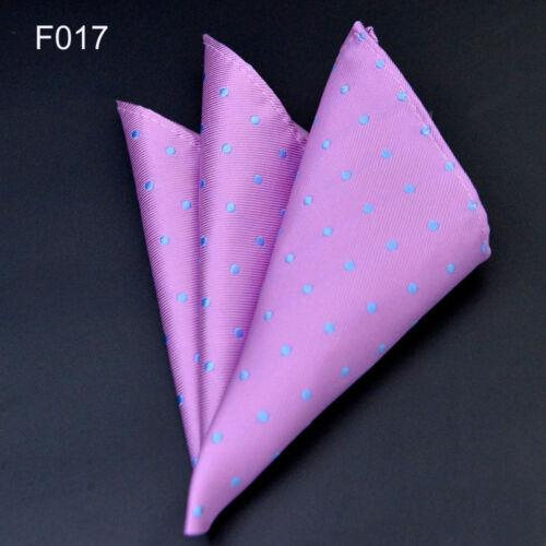 54 Colors Men Pocket Square Silk Paisley Handkerchief Floral Hanky Wedding Party