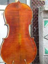 Cello 4/4 Size full Hand made antique old style cello bright sound