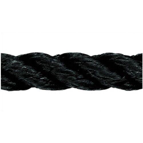 Liros Festmacher gedreht 12mm x 83m schwarz 3-schäftig Ankerleine Polyester Polyester Polyester PES a5830a