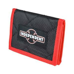 Genuine Independent Dual Pinline O.G.B.C. Wallet - Black/Red (One Size)