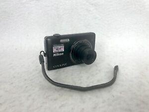 Nikon COOLPIX S5200 ~16.0MP 6x Zoom ~Digital Camera Black