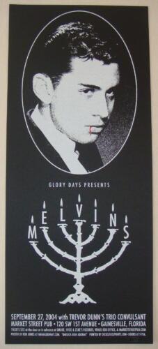 2004 The Melvins - Gainesville Silkscreen Concert Poster S/N by Rob Jones
