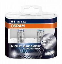Osram H1 64150NBU Night Breaker Unlimited Halogen Lampen Duo-Box (2 Stück)