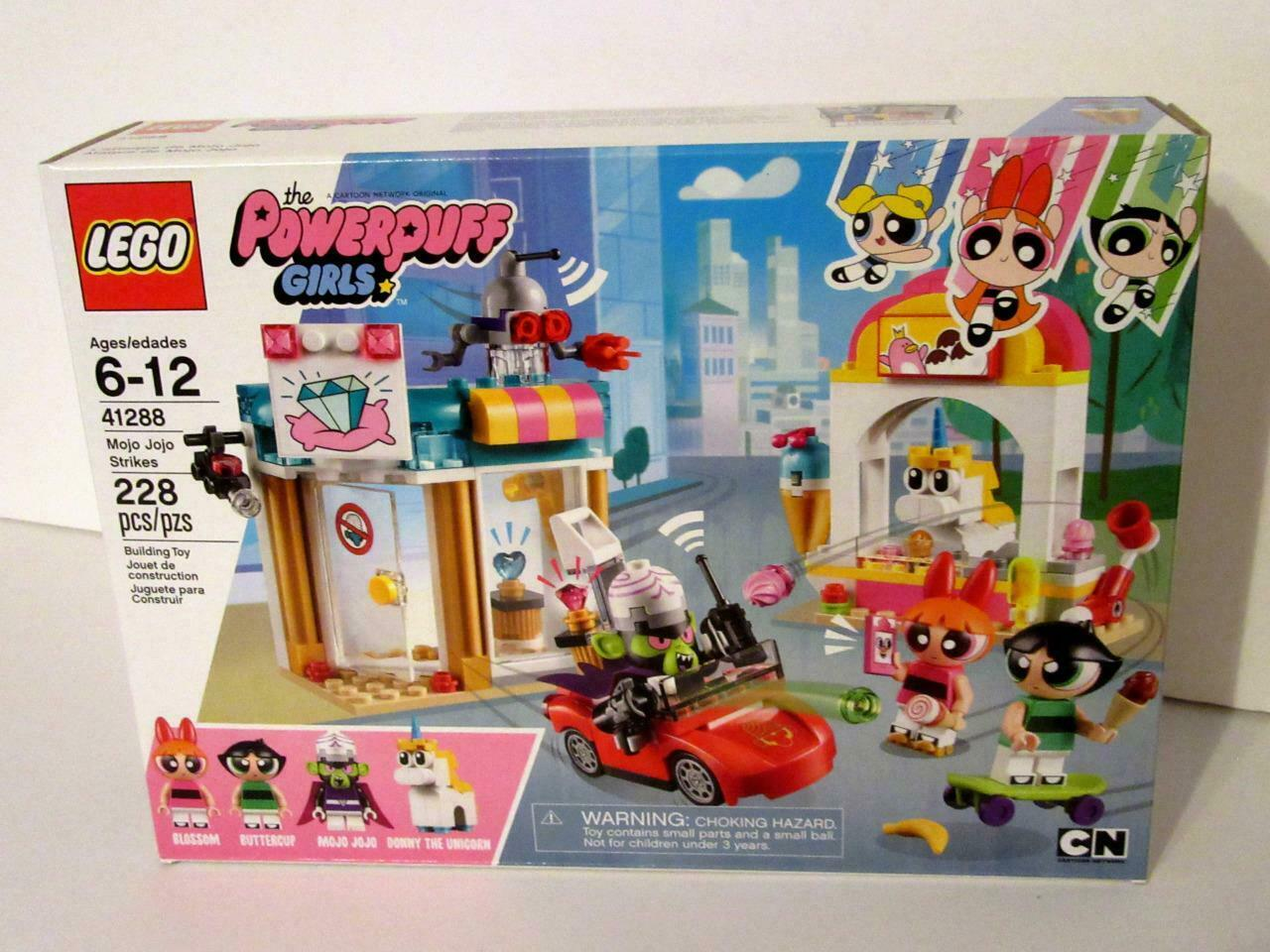 LEGO The Powerpuff Girls - - - MOJO JOJO STRIKES Pc Building Kit NEW  61f858