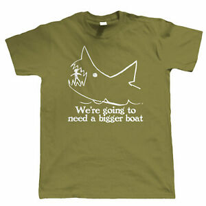 Quints-We-039-re-Going-To-Need-A-Bigger-Boat-Movie-T-Shirt-Shark-Jaws-Gift-Him-Dad
