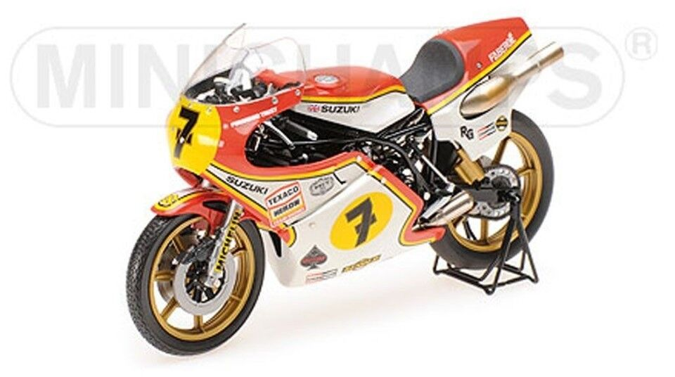 Esperando por ti 122770007 122770007 122770007 Minichamps 1 12 Suzuki Real Grado 500 Barry escena Grand Prix 500 campeón mundial de 1977  descuento