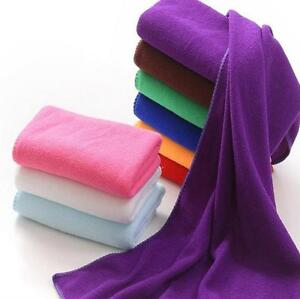 Absorbent-Microfiber-Fiber-Beach-Drying-Bath-Washcloth-Shower-Cleaning-Towel-diy