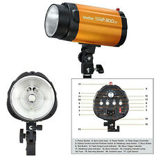 Godox 300 SDI Pro Photographie Strobe Flash Lampe Studio Photo + Esclave / 300WS
