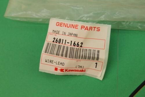 KAWASAKI VN1500 1996-99 BATTERY NEGATIVE LEAD WIRE OEM #26011-1662