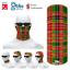 Ogilvie Clan Scottish Tartan Multifunctional Headwear Neckwarmer  Bandana