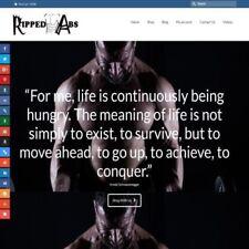 Fully Stocked Dropshipping Bodybuilding Store Website Business Domain Hostin