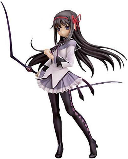 NEW Magical Girl Madoka Magica Homura Akemi 1/8 Action Figure 20cm 7.9inch /B1