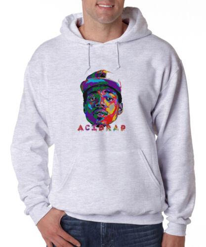 Chance The Rapper Acid Rap Hoodie Hip Hop Music Rapper Fleece Sweatshirt New