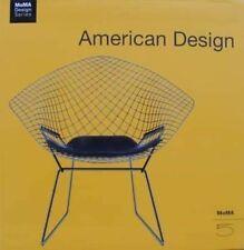 LIVRE : AMERICAN DESIGN AMÉRICAIN   EAMES,WRIGHT,BERTOIA,KNOLL ..