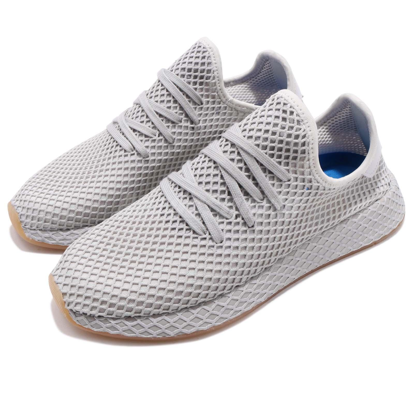 adidas Three Originals Deerupt Runner Gris Three adidas Gum Hommes