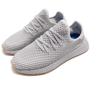 new product aa3b3 a710c Caricamento dellimmagine in corso adidas-Originals-Deerupt-Runner -Grey-Three-Gum-Men-