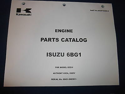 Heavy Equipment Parts & Accessories KAWASAKI 65ZV WHEEL LOADER ...