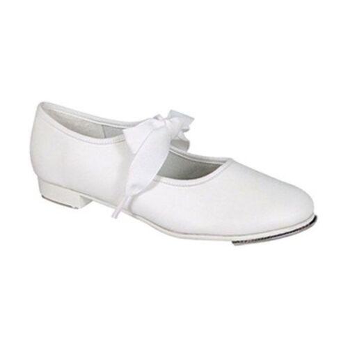 Tyette Tap Shoe White Jr Capezio 625 Adult Size 4.5M Fits Child Size 2.5