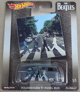 Hot Wheels Premium Pop Culture - VW Volkswagen T1 panel bus van - The Beatles