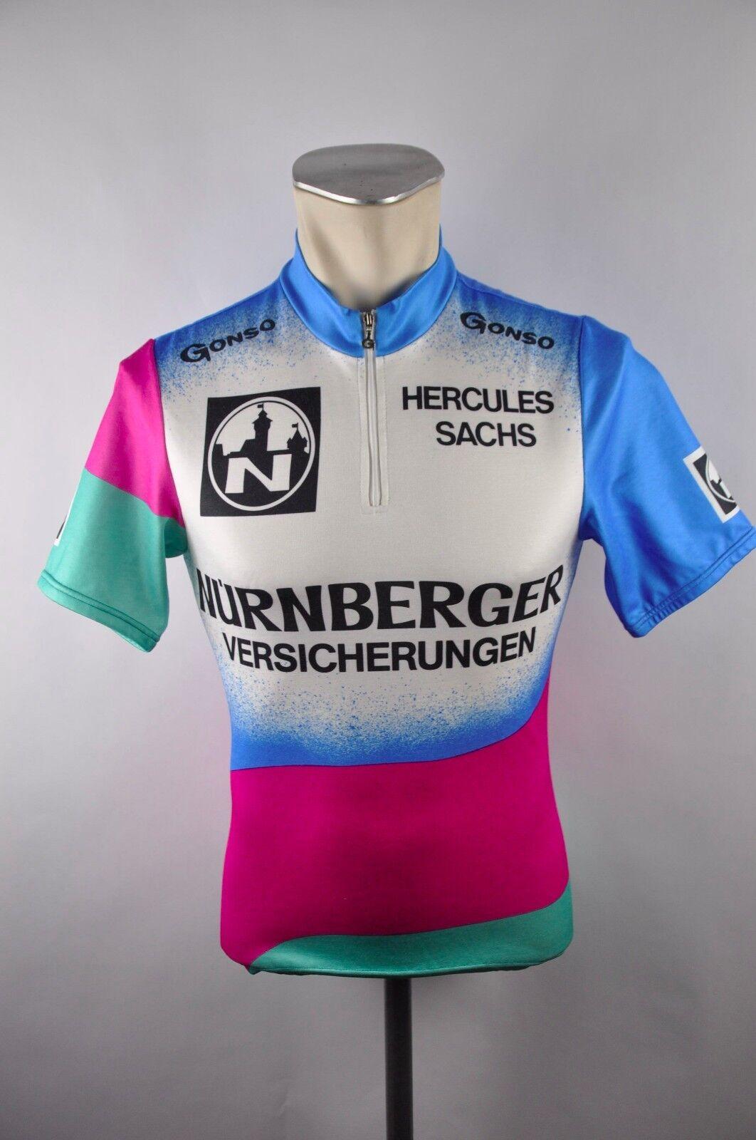 Gonso Radtrikot cycling jersey maglia Rad Trikot Gr. S 48cm  I05