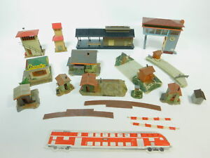 Be922-1-12x-FALLER-h0-Modeles-Vice-oeuvres-Kiosque-gardien-cabine-passages-a-niveau
