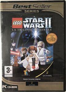 Lego-Star-Wars-II-2-La-trilogie-originale-Jeu-PC-Neuf-sous-blister-PAL-FR