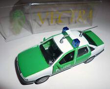 "Opel Vectra A ""POLIZEI"" Politi Polis Police Policia, GAMA in 1:43 / 10,3 cm OVP!"