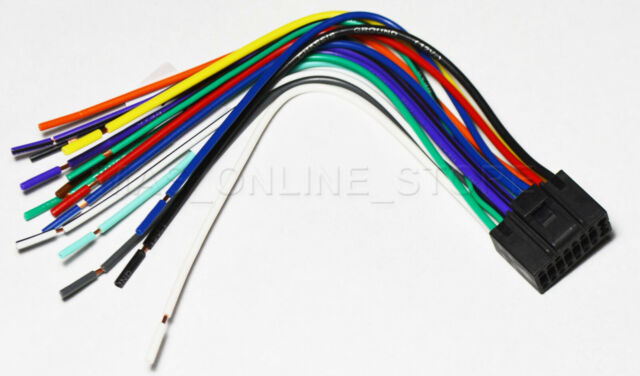 Wire Harness For Jvc Kw