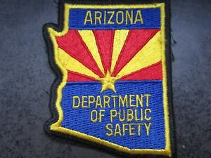 SEW / IRON ON PATCH ARIZONA DEPARTMENT OF PUBLIC SAFETY new