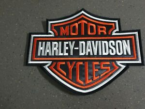 """Harley-Davidson Motor Cycles, Back Patches, Large: 8 1/2"""" X 11"""", Lot of 200,.NEW"""