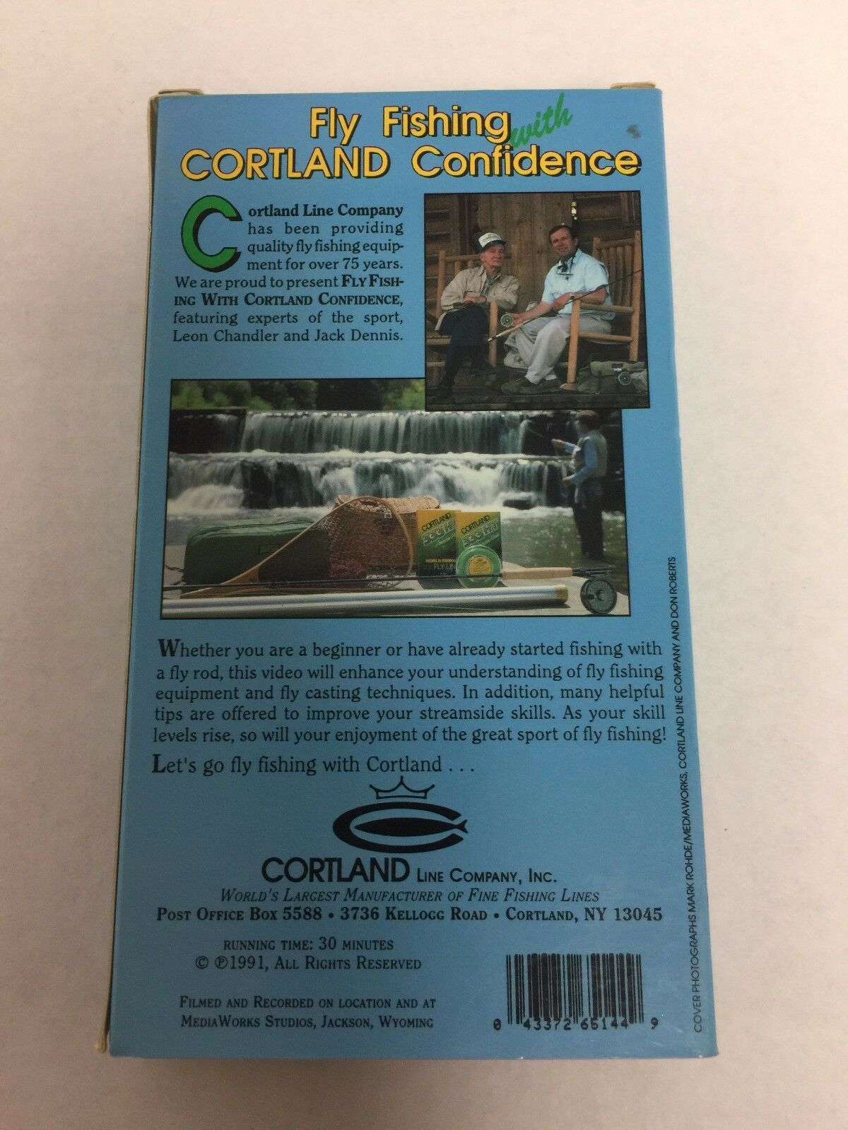 Fly Fishing with Cortland Confidence VHS