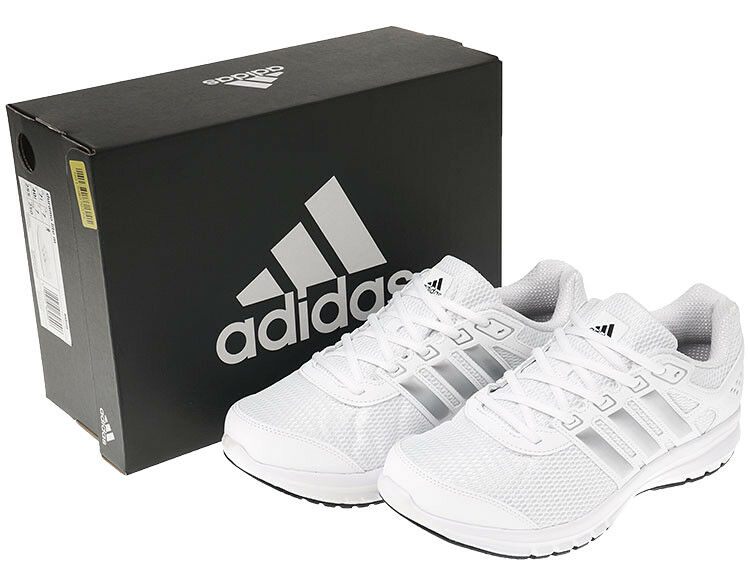 Adidas DURAMO LITE Men's Running shoes Walking Training Casual White NWT BA8105