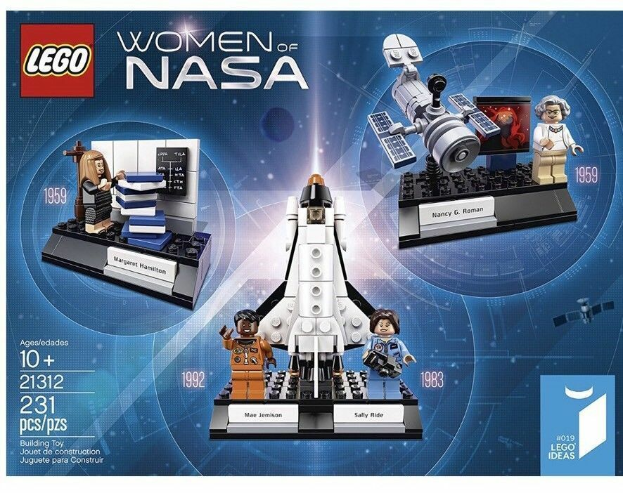 LEGO Ideas Women of Nasa NEW SEALED Ships Priority Mail 231 Pcs Ages 10+