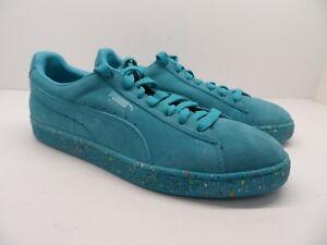 Puma Men s Suede Classic Casual Fashion Sneaker Multi Splatter Size ... 19ab0d37e5af9