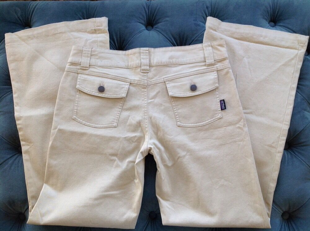 Patagonia Women's Outdoor Hiking Casual Pant SZ 6 Organic Cotton Pristine Unworn