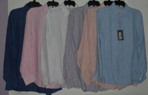 casual shirts tops Murano Linen Men's Casual Shirts Button