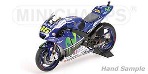 1:12 Minichamps Valentino Rossi Yamaha Yzr M1 2015 Motogp 122153046 Nouveau