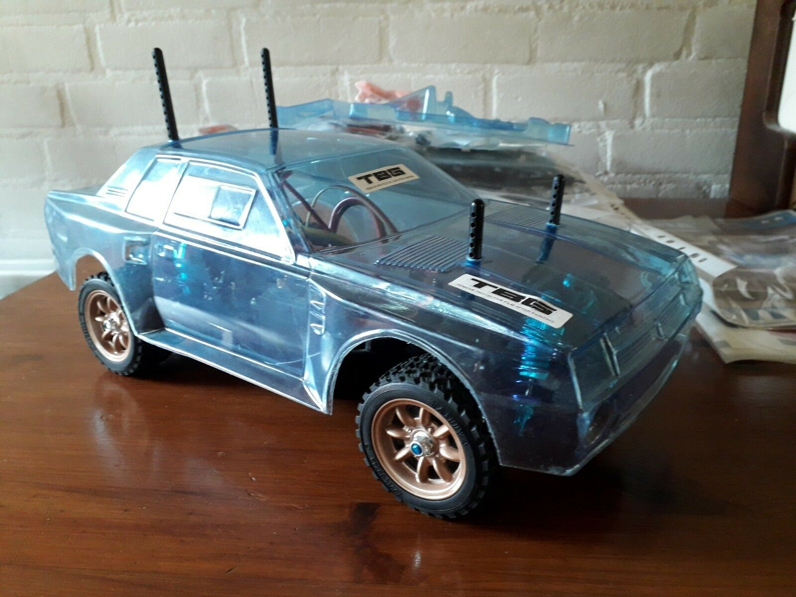 Tamiya   RC Project  TA64 Toyota Celica Gr.B Rally Special M-06 Chassis
