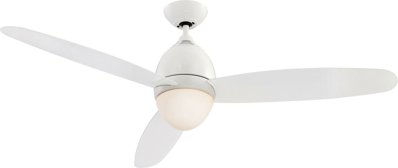 LUSSO Ventilatore a Soffitto con Illuminazione 132 cm telecomando Lampada 47650578