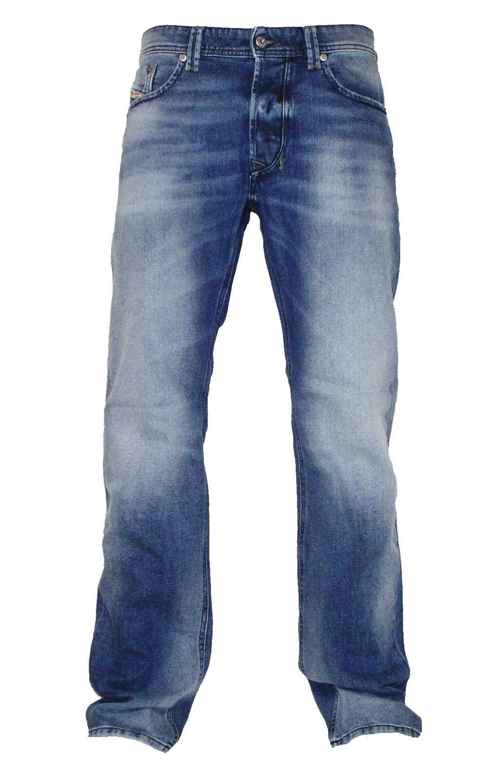 Diesel Herren  Stretch Jeans LARKEE 0853P hellblau Gr. 28-38 NEU Kollektion 2017