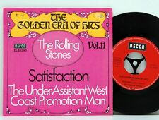 "Rolling Stones      Satisfaction  /   The under assistant    ""7      NM  # 1"