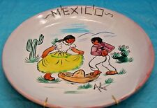 Mexican Hat Dance Plate Wall Hanging