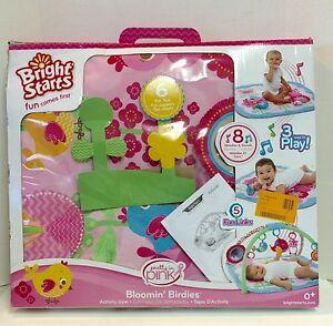 Bright Starts Charming Chirps Activity Gym Pretty In Pink UK Stock